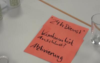 In der Veranstaltungen wurden die Herausforderungen für Multiplikator/innen formuliert