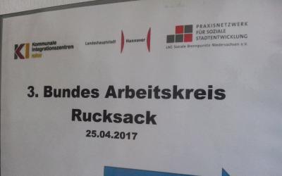 Bundesweiter Arbeitskreis Rucksack am 25.04.17 in Hannover