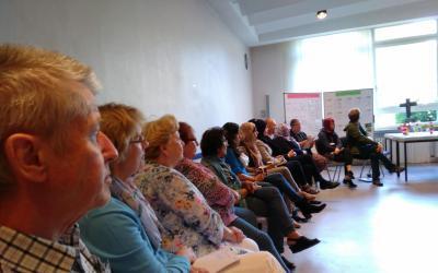Der Saal brummte, beim Bewohner/innen-Herbst-Treffen in Hildesheim