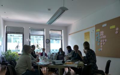 """Treffen des AK GWA zum Thema: """"Zusammenleben von Männern und Frauen im Stadtteil"""""""