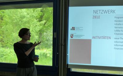 Präsentation der LaKo-Tätigkeit aus dem vergangenen Jahr bei der MV der LAG souiale Brennpunkte